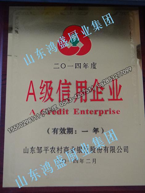 A级重合同守信誉企业